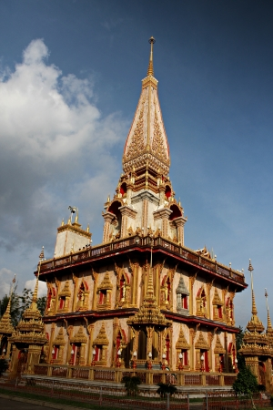 solace: Thai Temple Stock Photo
