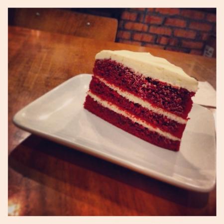 terciopelo rojo: Pastel de terciopelo rojo