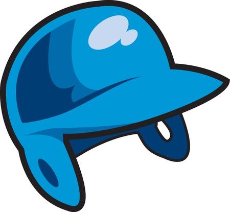 baseball swing: Blue Batters Helmet for Baseball, Softball or Little League