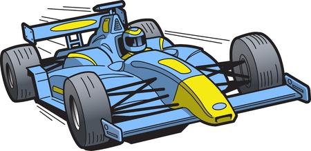 El exceso de velocidad del coche de carreras Foto de archivo - 20686819