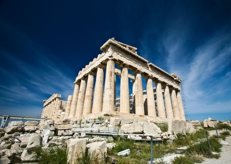 Acropolis in Greece photo