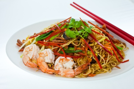 asian noodle: Chinese Noodle1