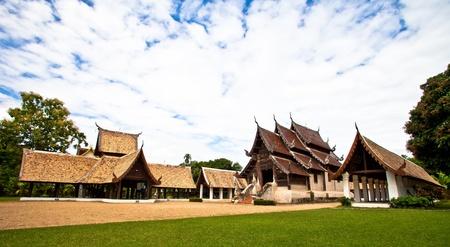 ton: Wat Ton Kwan,Chiang Mai Stock Photo