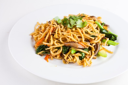 chinese noodle: Vegetable Fried Noodle2