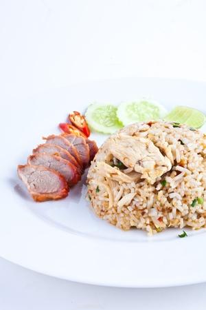 Pork Fried Rice1 Stock Photo - 10733062