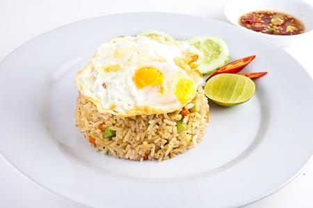 nasi: Fried Egg over Fried Rice2