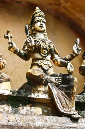 Hindi statue in Sri Lanka photo