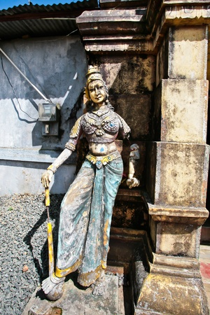 Hindis statue in Sri Lanka photo