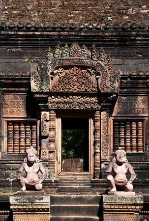 The guardians of Banteay srei photo