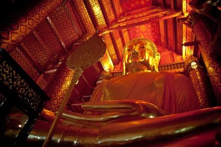 thai believe: A big buddha statue
