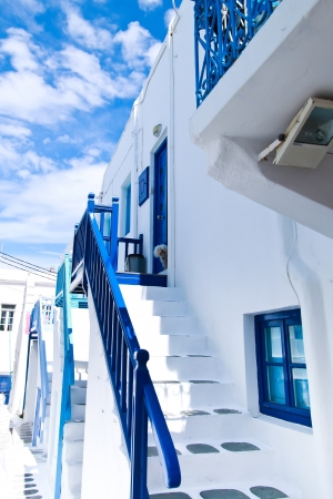 aegean sea: Greek s house