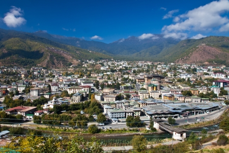 The Capital of Bhutan Stock Photo - 16599883