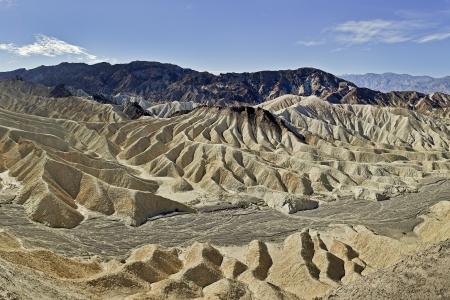 Zabriskie Point is the Famous Section in Death Valley, California.