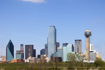 A View of the Skyline of Dallas, Texas, USA photo