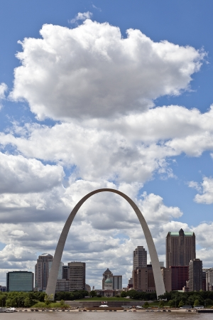 City of St  Louis Skyline, Missouri, USA