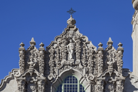 A View of Structure at the Museum of Man at Balboa Park in San Diego