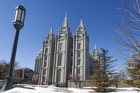 lds: The Salt Lake Temple in Utah