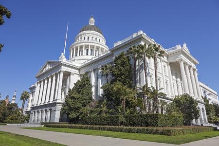 Capitol Building in Sacramento, California Stock Photo