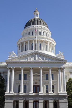 Capitol Building in Sacramento, California photo