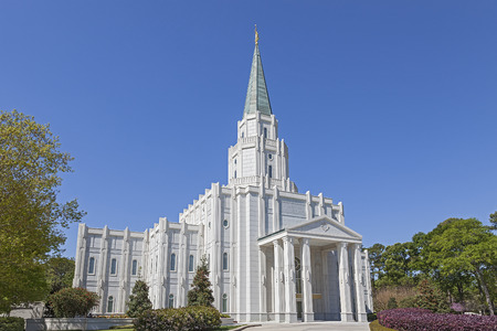 mormon temple: Mormon Temple - The Houston Texas Temple