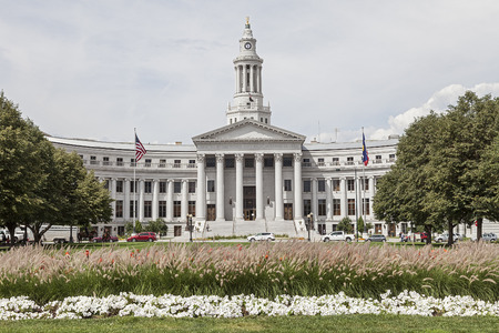 city of denver: Denver City Hall County Building in Denver, Colorado