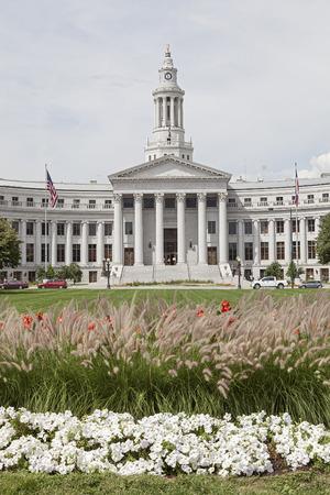 denver city and county building: Denver City Hall County Building in Denver, Colorado