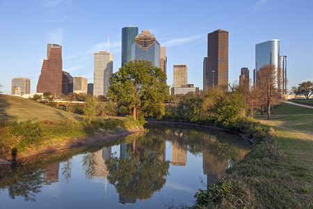 houston: Buffalo Bayou and Downtown Houston, Texas