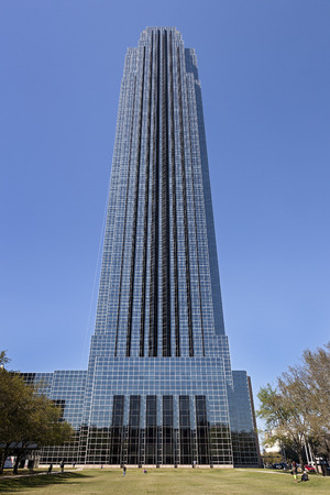 A Modern Building of Williams Tower in Houston, Texas