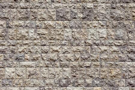 茶色の煉瓦壁のパターンの