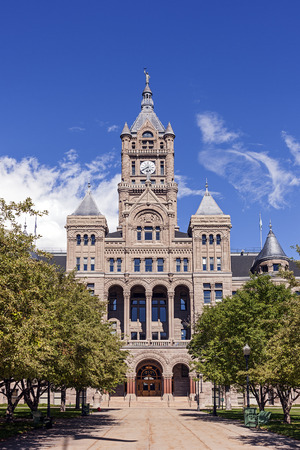 City and County Building in Downtown Salt Lake City, Utah