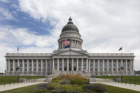 State Capitol of Utah at Salt Lake City, Utah Editorial