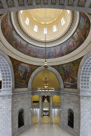 ユタ州議会議事堂ソルト レイク シティ, ユタ州の連邦議会の建物の内部