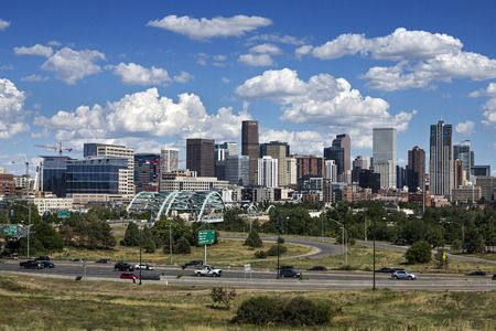 denver skyline: Denver Skyline, Colorado