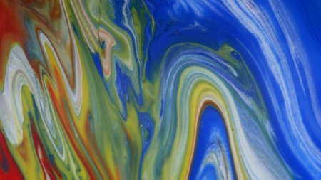Abstract colorful background of spreading flowers. A unique screensaver picture. Background image. Acrylic paints. Alcohol ink. Zdjęcie Seryjne