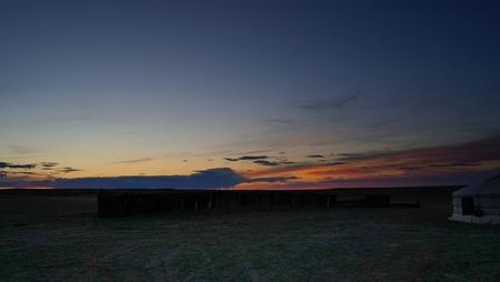 dusk of Mongolia