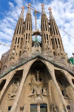 Sagrada Familia, Barcelona  Standard-Bild - 25342779