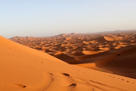desierto del sahara: Desierto del S�hara  Foto de archivo