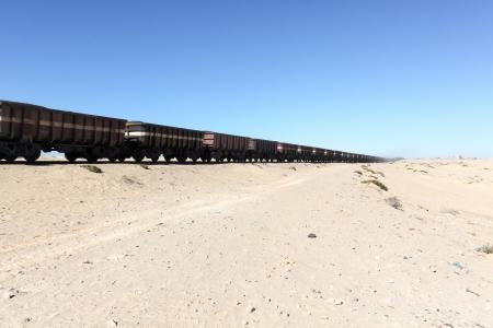 world's: The world s longest train Stock Photo