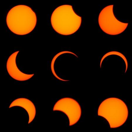 Sonnenfinsternis Standard-Bild - 25095193
