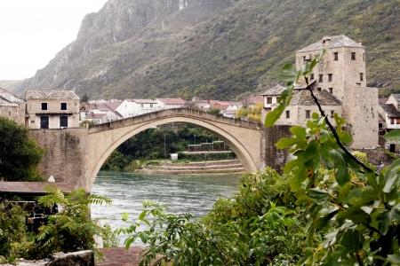 mostar: Old Bridge Stari most  in Mostar