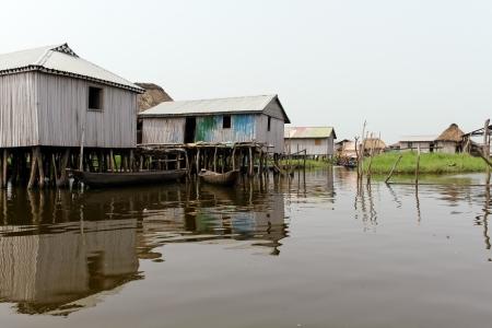 Floating village of Ganvie