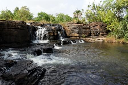 Waterfalls of banfora, burkina faso