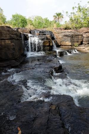 burkina faso: Waterfalls of banfora, burkina faso