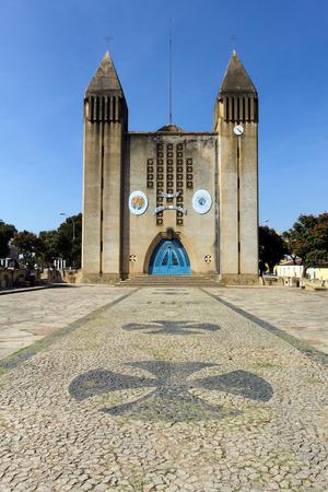 angola: Cathedral of Lubango,Angola