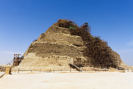 djoser: Step Pyramid of Djoser