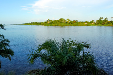 gabon: Principal river of Gabon in central Africa