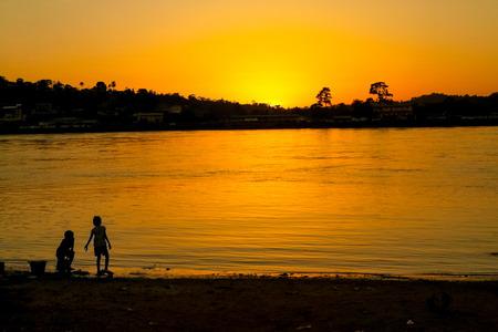 Principal river of Gabon, Ogowe river