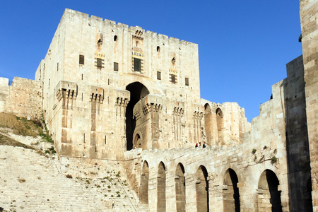 military invasion: Aleppo Citadel, Syria