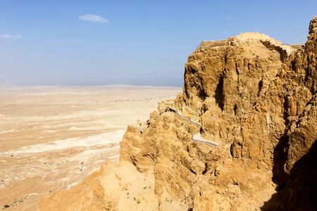 masada: Masada, Israel Stock Photo