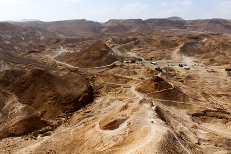 Masada, Israel photo